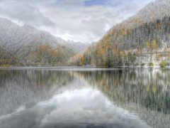 озеро, рица