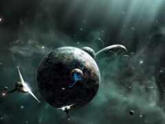planet, land
