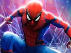 spiderman, паук, мужчина