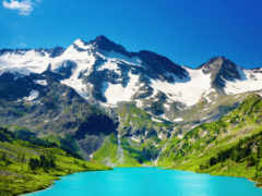 горы, фотообои, модульные Фон № 173333 разрешение 2560x1600