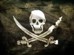 флаг, пиратский, case