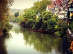 germanii, река, город