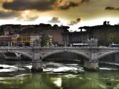 мост, река, european