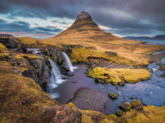gora, kirkjufell, исландия