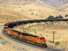поезд, жд, bnsf