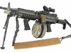 Пулемет m249, армия