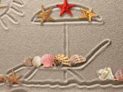 ракушки, рисунок, starfish