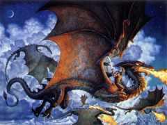 драконы, встречаются, первые
