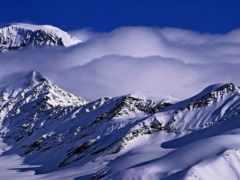 аляска, las, гора