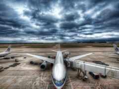 airport, plane, авиация