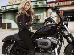 devushki, девушка, мотоцикле
