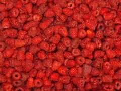 малина, ягода, картинка
