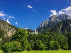 castle, природа, germanii