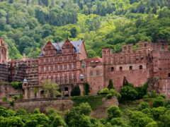 heidelberg, германия, castle