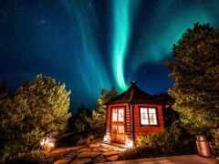 norwegian, ночь, огни