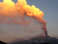 вулкан, etna, извержение