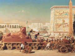 древний, египет, живопись
