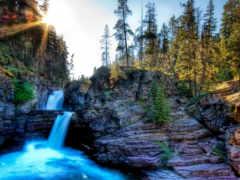 www, водопады, falls
