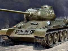 танк, модель, soviet