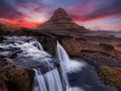 гора, исландии, киркьюфелл