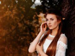 поле, brunette, модель