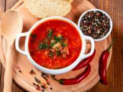борщ, рецепт, суп