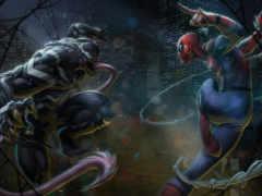 venom, spiderman, marvel