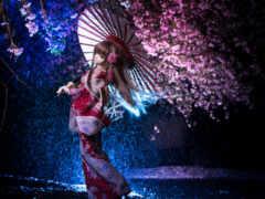doll, зонтик, japanese