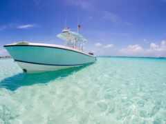 лодка, ocean, water
