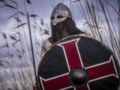 viking, воин, щит