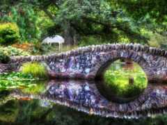 мост, naturaleza, pantalla