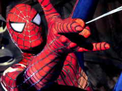 мужчина, паук, паука