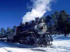 локомотив, паровозы, trains