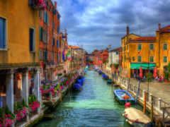 venezia, канал, города