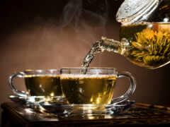 чай, чашка, утро