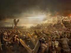 total, war, рим