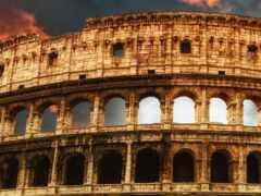 колизей, art, roman
