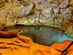 пещера, озеро, greece