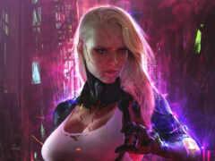 cyberpunk, game, oneplus