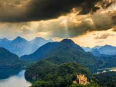 mount, scenery, pazlyi
