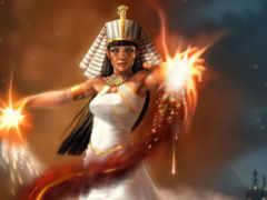 pharaoh, девушка, магия