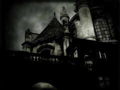 dark, castle, привидения