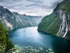 fjord, водопад, лукреция