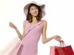 девушка, indir, shopping