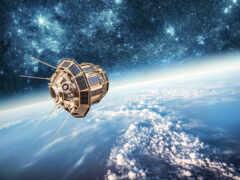 спутник, космическое пространство