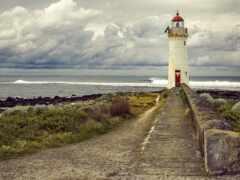 остров, griffith, порт