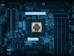 а процессор - от android