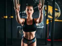 фитнес, спорт, высокий