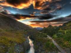 река, black, kawarau