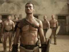 spartacus, serial, кровь